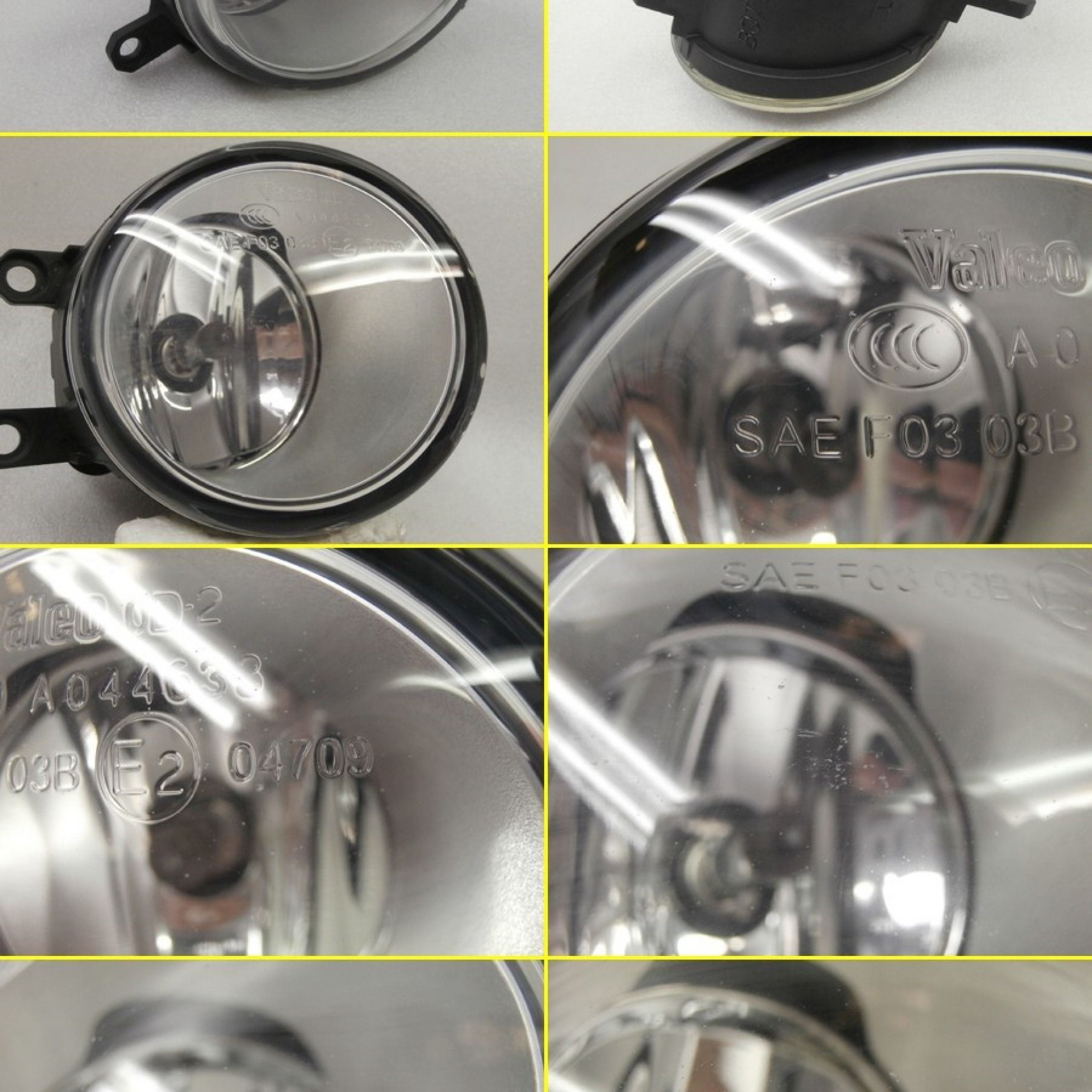 Be forward Japanese Used Cars for Sale Beautiful [used]b6129 [fog Light for the toyota Car] ★☆ Right Fog Lamp Lamp   Valeo 0d 2 A R Valeo