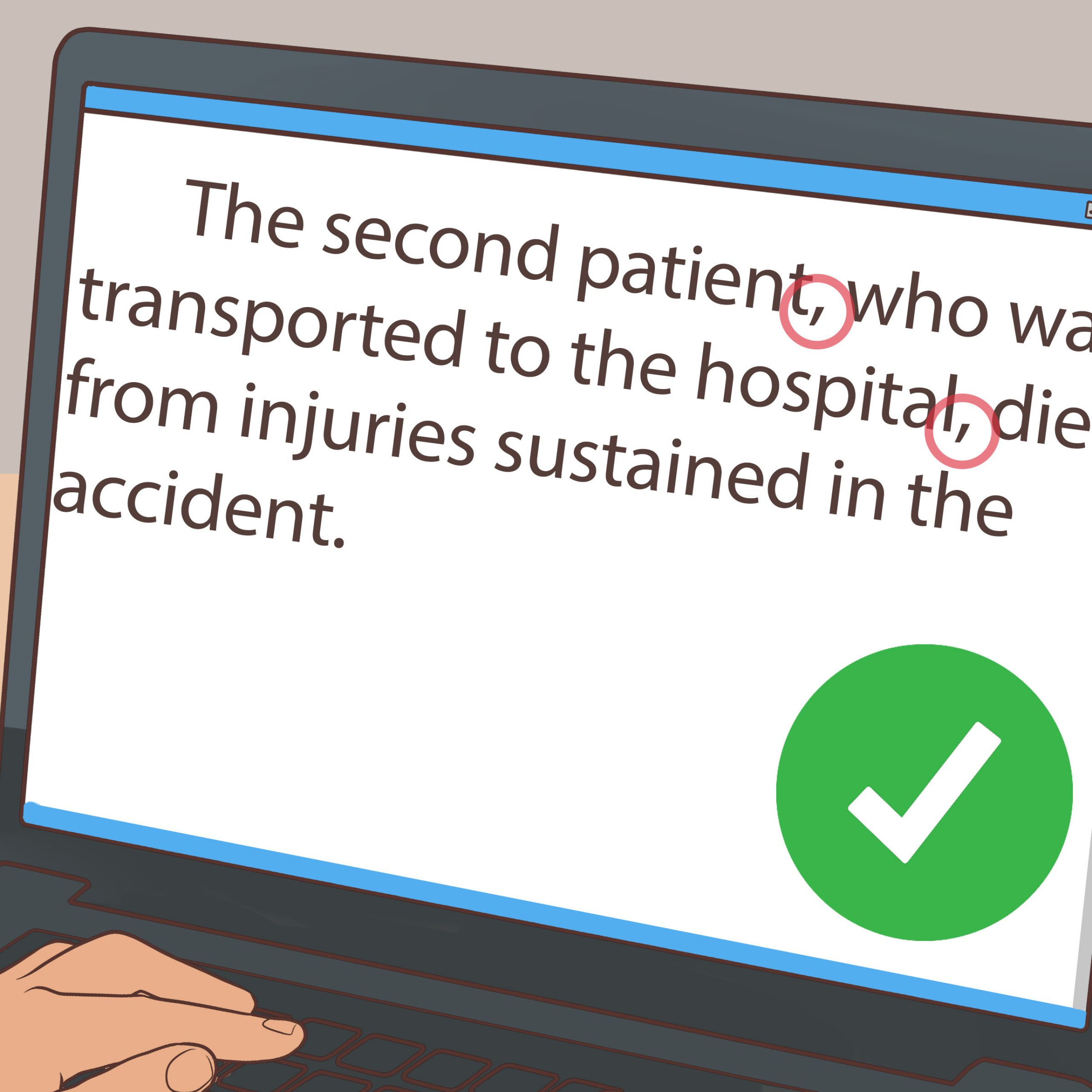 Make an Accident Report Step 18