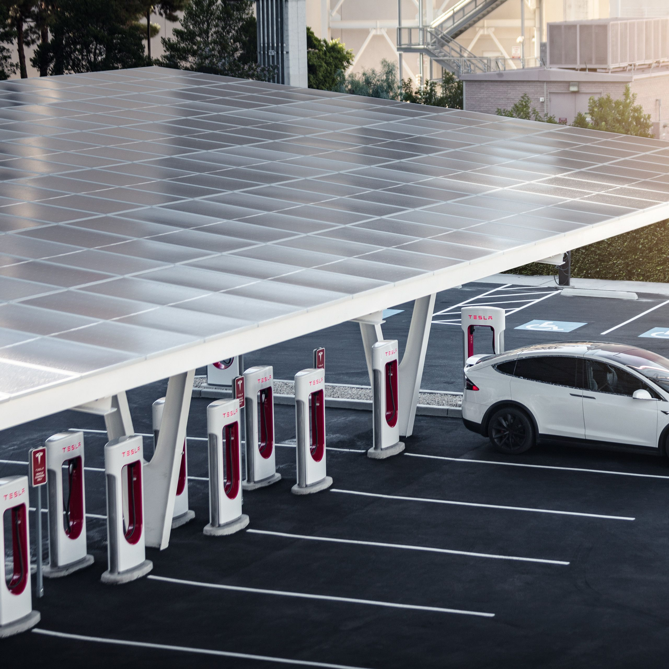 How Much is A Tesla Charging Station Inspirational Tesla Supercharger V3 Futuristic Station is Final Piece Of