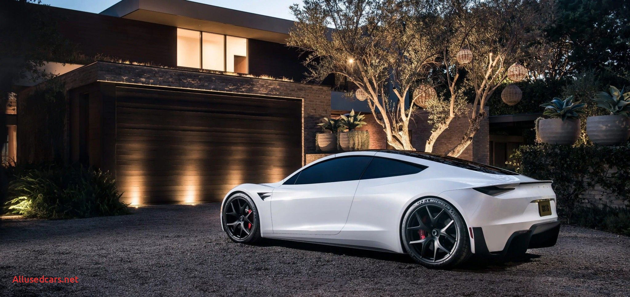 Spacex Tesla Roadster Beautiful Tesla S Roadster In White with Background