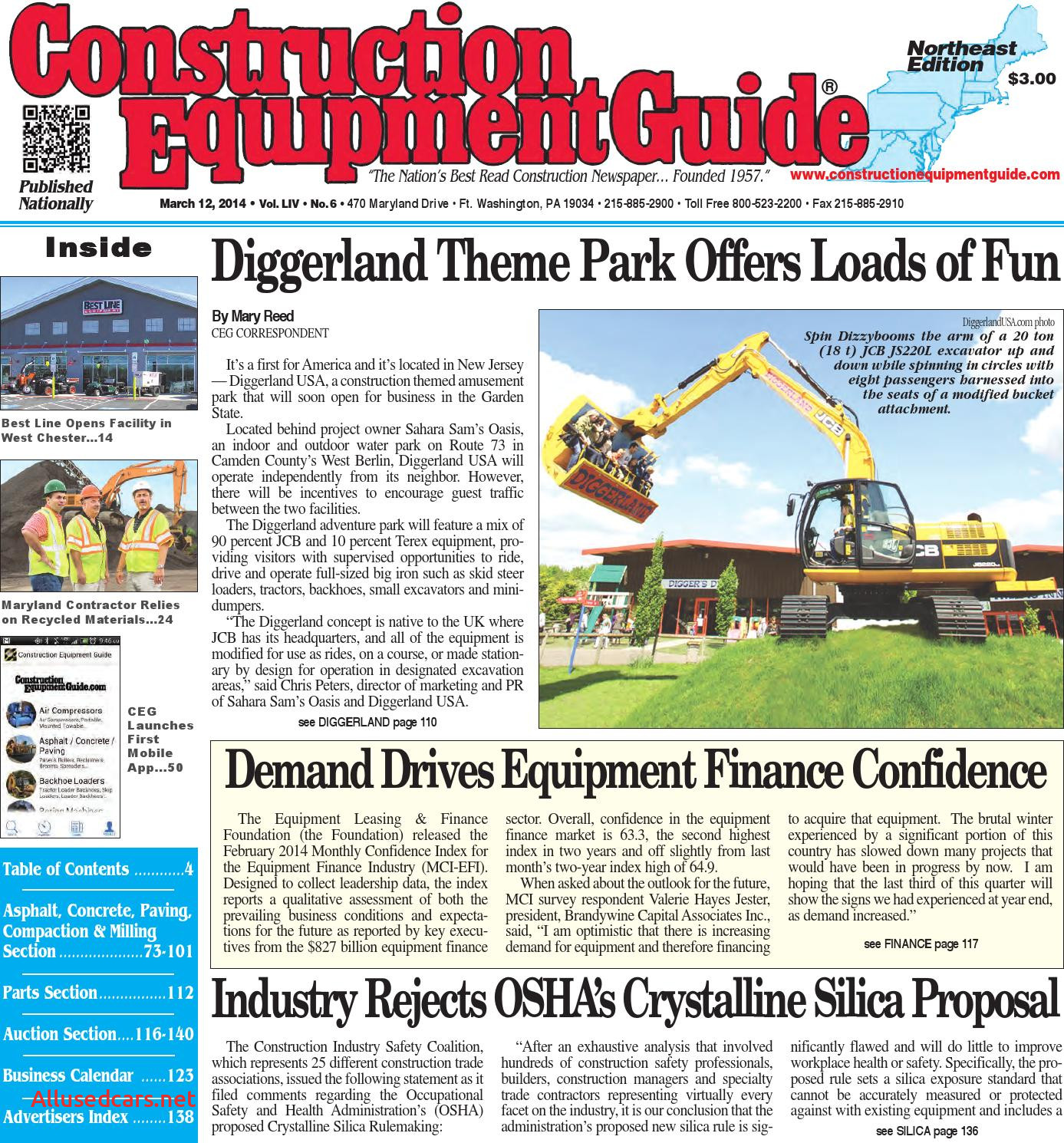 Used Cars for Sale 07882 Elegant northeast 06 2014 by Construction Equipment Guide issuu
