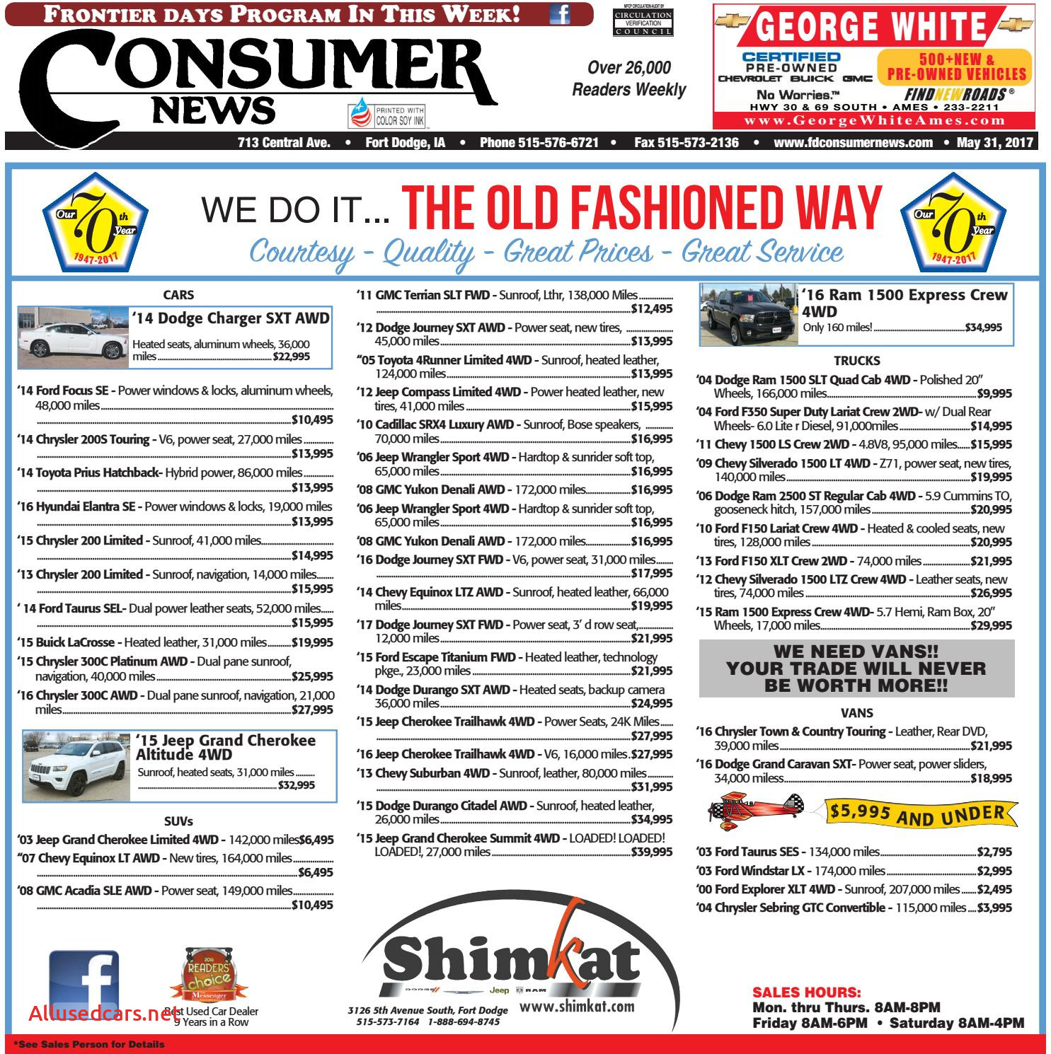View Carfax for Free Best Of 05 31 17 Consumer News by Consumer News issuu
