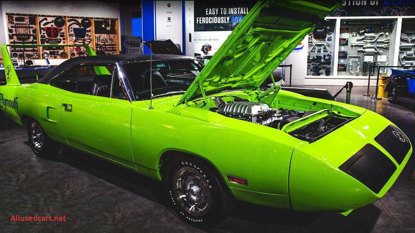 Graveyard Cars Lovely Hellcat Powered 1970 Plymouth Superbird by Graveyard Carz