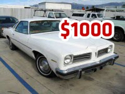 Cars for Sale Near Me 1000 or Less Lovely Used Cars Under 1000 Dollars, Used Car Under 1000 for Sale - Youtube