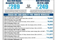 07 Honda Accord New Tv Facts January 19 2020 Pages 1 36 Text Version