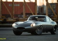 1 Owner Car Inspirational Reimagined Jaguar E Type Low Drag Coupe Debuts at the Quail