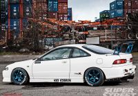 2001 Acura Unique A Bit Much but Still Bangin Type R Integra On that Race