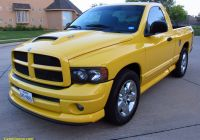 2004 Dodge Ram 1500 Fresh 2004 Dodge Ram Rumblebee Rare Hemi solar Yellow