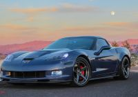 2005 Corvette Awesome Simplicity is Beauty Dark Blue Chevy Corvette with Minor