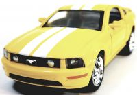2005 ford Mustang Unique Kinsmart ford Mustang Gt 2006 Yellow & White Stripes Hardtop