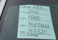 2007 ford Mustang Best Of 2002 ford Mustang Silver – Gary Hanna Auctions