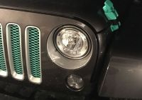 2007 Jeep Liberty Luxury Mint Green Hood Clips to Match My Grill