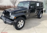 2007 Jeep Wrangler Best Of Pre Owned 2016 Jeep Wrangler Unlimited Sport