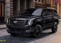 2008 Cadillac Escalade Fresh Cadillac Escalade Sport Edition Debuts with Murdered Out Look