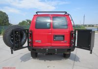 2008 E350 Elegant ford E350 with Aluminess Rear Bumper Dual Swing Arms for