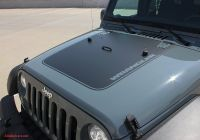 2009 Jeep Wrangler Best Of 2007 2017 Jeep Wrangler Outfitter Oem Factory Style Hood