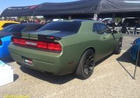 2010 Dodge Challenger Beautiful Satin Od Green Wrap