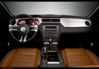 2010 ford Mustang Awesome 2010 ford Mustang Dashboard Red Wallpaper