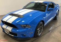 2010 ford Mustang Beautiful 2 400 Mile 2010 ford Mustang Shelby Gt500 for Sale On Bat