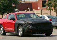 2010 ford Mustang Beautiful ford Mustang Major Facelift for 2010