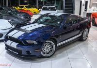 2010 ford Mustang Elegant Used 2010 ford Mustang Shelby Gt500 Ly 3k Miles Upgrades