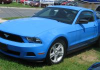 2010 ford Mustang Luxury File 2010 ford Mustang V6 1 07 01 2009 Wikimedia