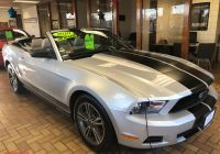 2010 ford Mustang Unique Used 2010 ford Mustang Convertible for Sale $12 388
