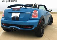 2010 Mini Cooper Fresh My Mini Cooper S Roadster R59 In Kite Blue
