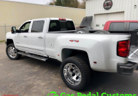 2011 Chevy Silverado Elegant Chevy 3500hd Dually with Fuel Froad forged Wheels and