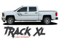 2011 Chevy Silverado Fresh Chevy Silverado Stripes Track Xl Side Door Body Hockey Decal