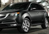2012 Acura Tsx Beautiful Mdx with Advance Package In Crystal Black Pearl