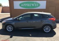 2012 ford Focus Hatchback Awesome Pre Owned 2015 ford Focus Se Hatchback In Phoenix
