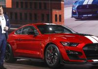 2012 ford Mustang Elegant ford Debuts 700 Horsepower Street Legal Mustang Shelby Gt500