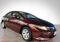2012 Honda Civic Lx Luxury Pre Owned 2012 Honda Civic Lx Fwd Sedan