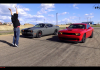 2013 Dodge Challenger Luxury Video which Srt Hellcat is Faster…2016 or 2017