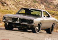 2013 Dodge Charger Luxury 1969 Dodge Charger R T