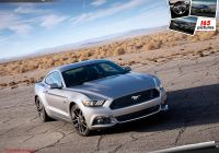 2013 ford Mustang Elegant Ficial 2018 ford Mustang Refresh Detailed Options
