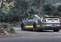 2013 Mustang Lovely Grey and Yellow Mustang