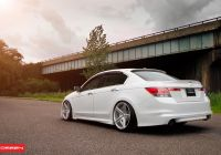 2014 Honda Accord Lovely Bespoke White Honda Accord On Vossen Rims — Carid