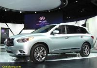 2014 Infiniti Qx60 Luxury 2014 Infiniti Qx60 Hybrid Bows In New York
