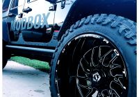 "2014 Jeep Wrangler Awesome Jeep Wrangler Jku 22"" Tis 544bm Wheels 37×13 50 atturo"