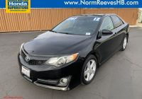2014 toyota Camry Se Awesome Pre Owned 2012 toyota Camry Se Fwd 4dr Car