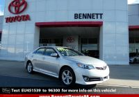 2014 toyota Camry Se Best Of Pre Owned 2014 toyota Camry Se Fwd 4dr Car