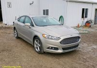 2015 ford Fusion Se Best Of 2015 ford Fusion Se 1 5l 4 In In fort Wayne