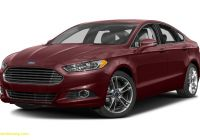 2015 ford Fusion Se Unique 2015 ford Fusion Titanium 4dr Front Wheel Drive Sedan Pricing and Options