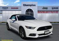 2015 ford Mustang Ecoboost Inspirational Pre Owned 2015 ford Mustang Ecoboost Premium Rwd Convertible