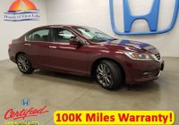 2015 Honda Accord Sport Luxury Certified Pre Owned 2015 Honda Accord Sedan Sport Fwd 4dr Car