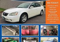 2015 Nissan Altima Fresh Auction Plete Vehicles & Surplus Truck Trailer Equipment
