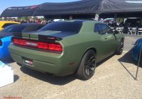 2016 Dodge Challenger Inspirational Satin Od Green Wrap