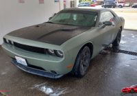 2016 Dodge Challenger Luxury Od Green